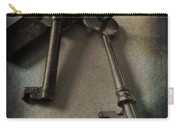 Vintage Keys Vignette Carry-all Pouch