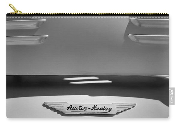 1956 Austin-healey 100m Bn2 'factory' Le Mans Competition Roadster Hood Emblem Carry-all Pouch