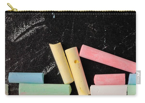 Chalk Pieces Carry-all Pouch