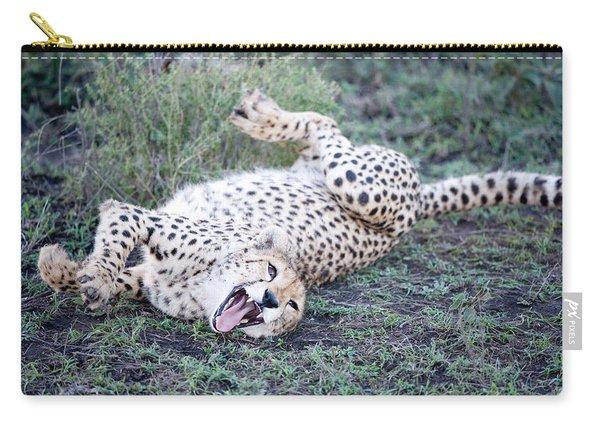 Cheetah Acinonyx Jubatus Resting Carry-all Pouch