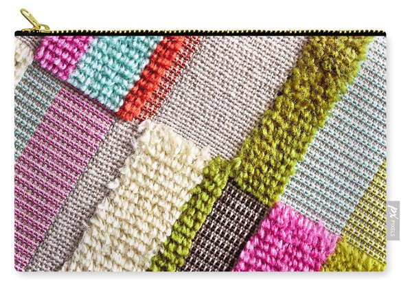 Colorful Cloth Carry-all Pouch