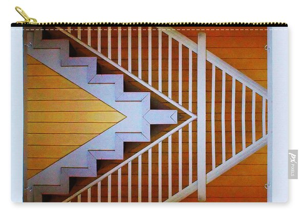 Distorted Stairs Carry-all Pouch