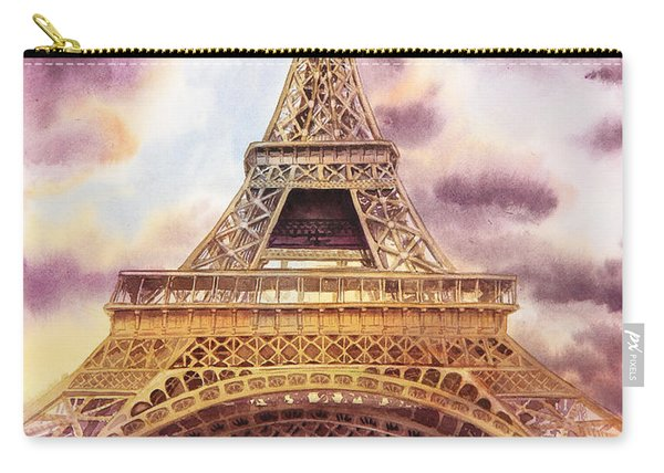 Eiffel Tower Paris France Carry-all Pouch