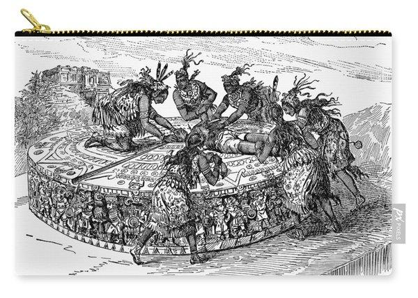 Mexico Aztec Sacrifice Carry-all Pouch