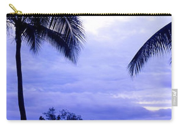 Palm Trees On The Coast, Colombia Carry-all Pouch