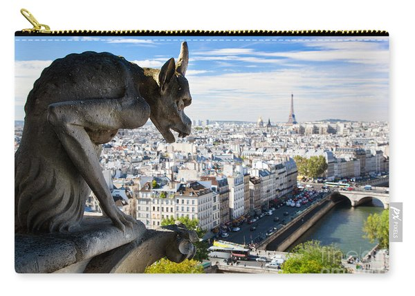 Paris Panorama France Carry-all Pouch