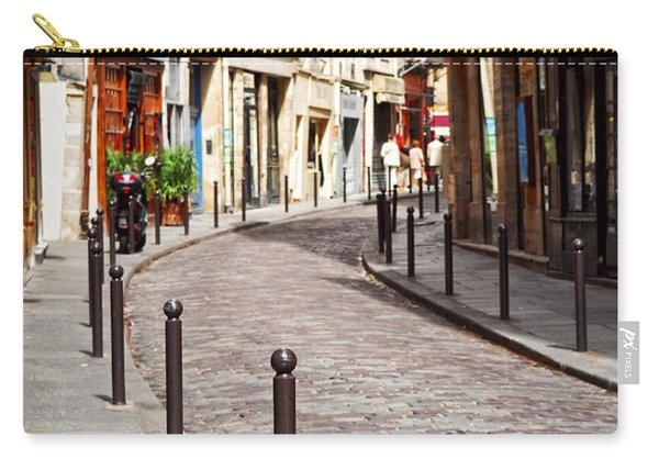 Paris Street Carry-all Pouch