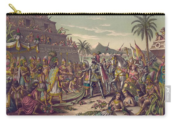 Spanish Conquest Carry-all Pouch