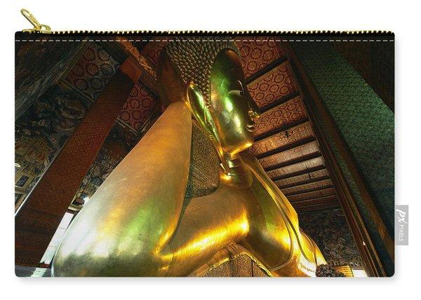 Thailand, Bangkok, Wat Pho, Buddhist Carry-all Pouch