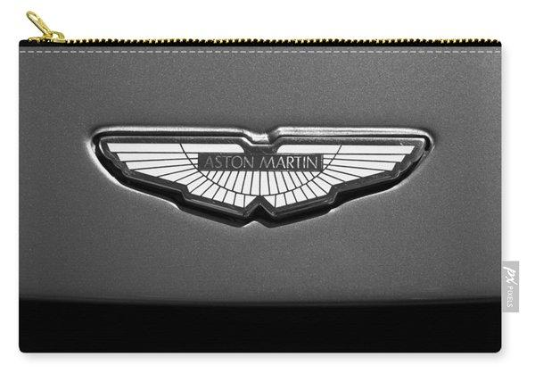 Aston Martin Emblem Carry-all Pouch