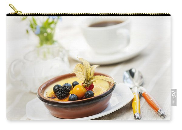 Creme Brulee Dessert Carry-all Pouch