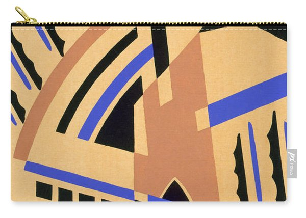 Design From Nouvelles Compositions Decoratives Carry-all Pouch