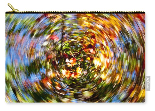 Fall Abstract Carry-all Pouch