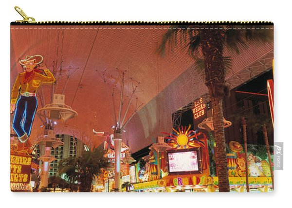 Fremont Street Experience Las Vegas Nv Carry-all Pouch