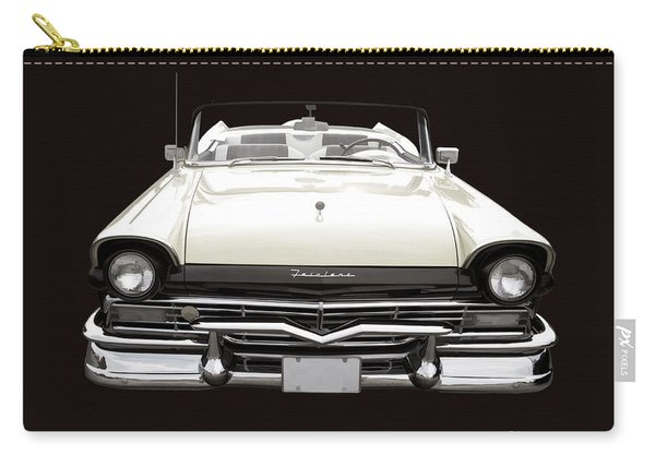 50s Ford Fairlane Convertible Carry-all Pouch