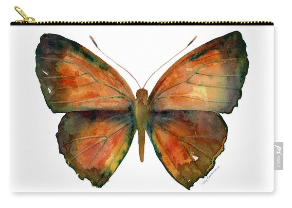 56 Copper Jewel Butterfly Carry-all Pouch