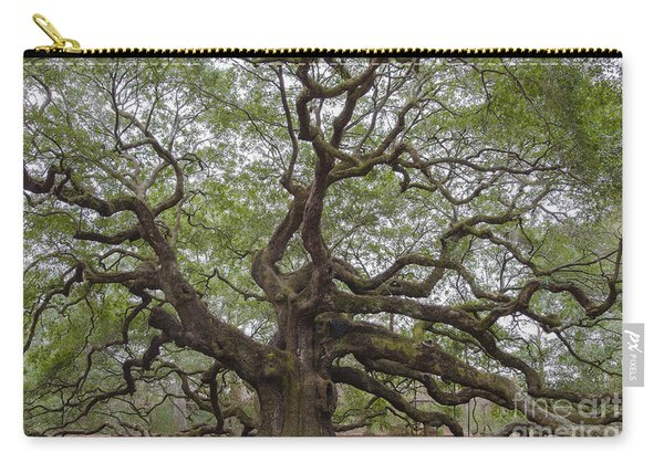 Sc Angel Oak Tree Carry-all Pouch