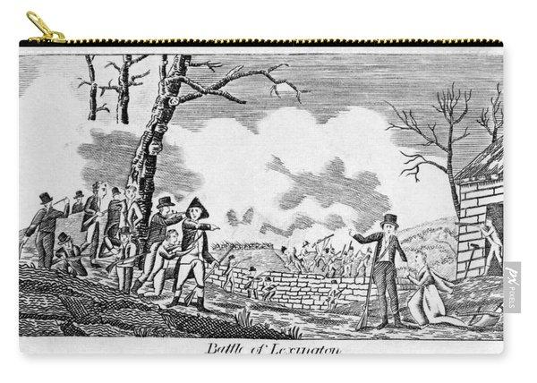 Battle Of Lexington, 1775 Carry-all Pouch