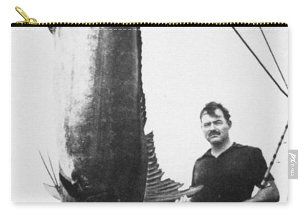 Ernest Hemingway (1899-1961) Carry-all Pouch