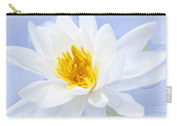 Lotus Flower Carry-all Pouch
