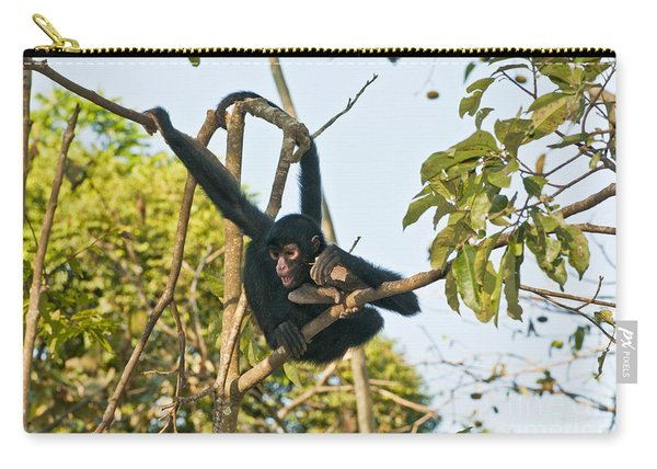 Peruvian Spider Monkey Carry-all Pouch