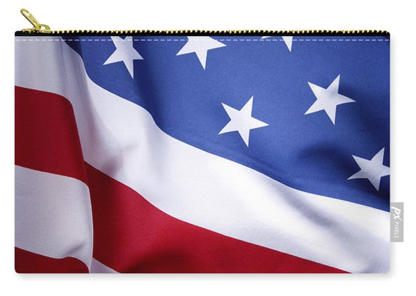 American Flag 50 Carry-all Pouch