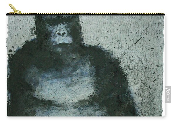 650 Mountain Gorillas, 2008 Mixed Media Carry-all Pouch