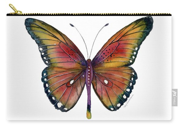 66 Spotted Wing Butterfly Carry-all Pouch