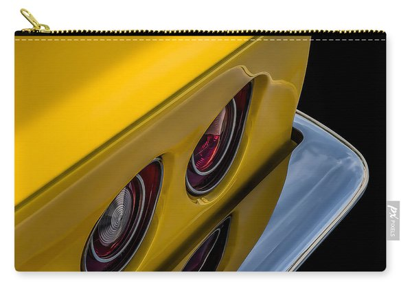 '69 Corvette Tail Lights Carry-all Pouch