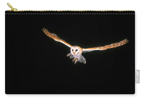 Chouette Effraie Tyto Alba Carry-all Pouch