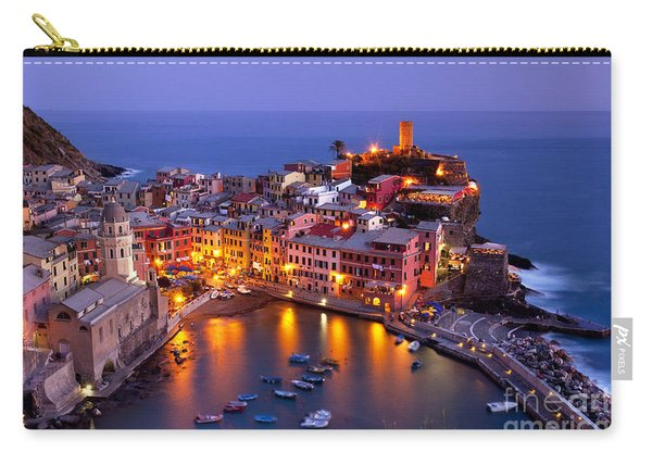 Carry-all Pouch featuring the photograph Cinque Terre by Brian Jannsen