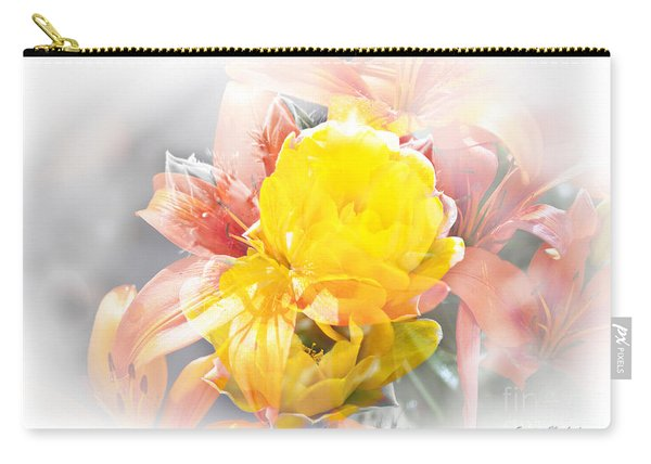 Flower Burst Carry-all Pouch