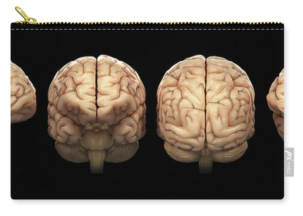 The Human Brain Carry-all Pouch