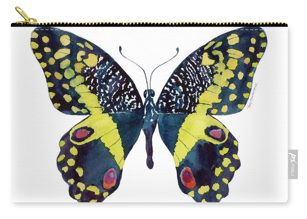 73 Citrus Butterfly Carry-all Pouch