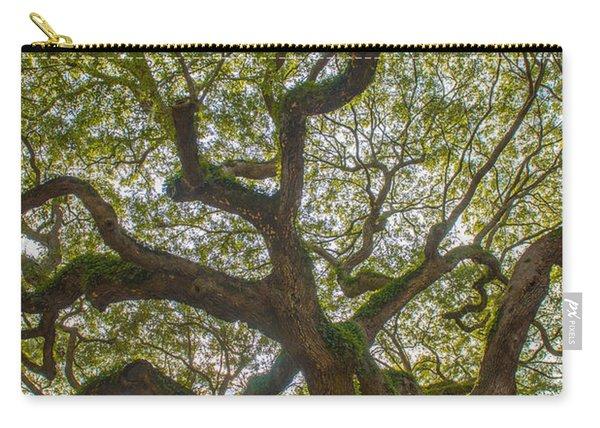 Island Angel Oak Tree Carry-all Pouch