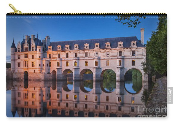 Carry-all Pouch featuring the photograph Chateau Chenonceau by Brian Jannsen