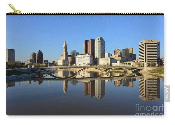 Fx1l-1058 Columbus Ohio Skyline Photo Carry-all Pouch