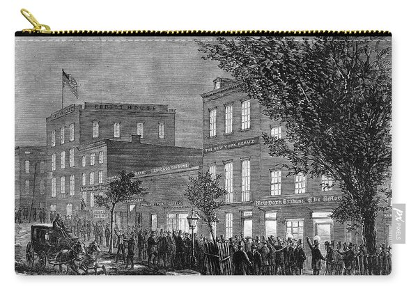Johnson Impeachment, 1868 Carry-all Pouch