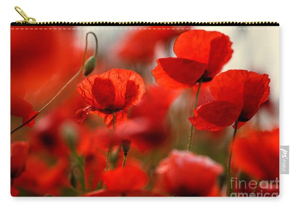 Poppy Dream Carry-all Pouch