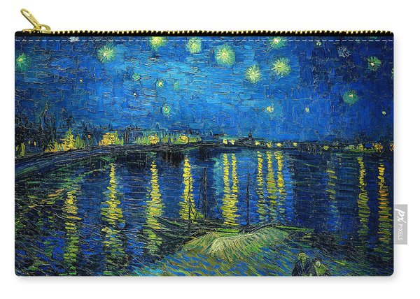 Starry Night Over The Rhone Carry-all Pouch