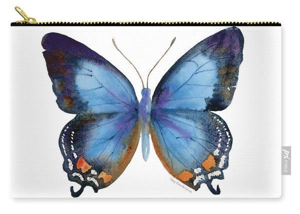 80 Imperial Blue Butterfly Carry-all Pouch