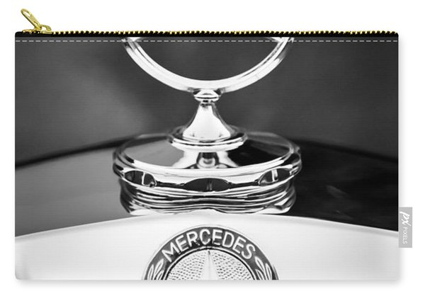 Mercedes-benz Hood Ornament Carry-all Pouch