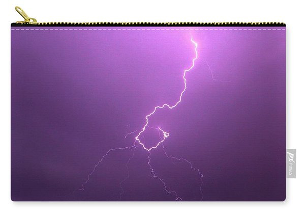 Our 1st Severe Thunderstorms In South Central Nebraska Carry-all Pouch