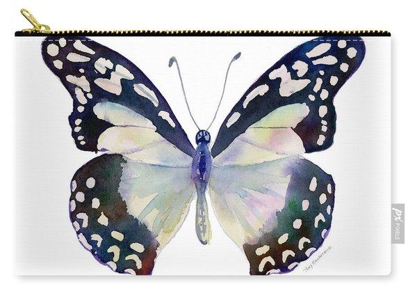 90 Angola White Lady Butterfly Carry-all Pouch