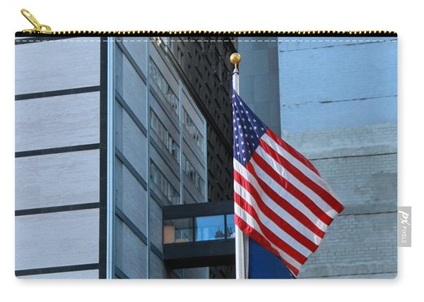 911 Memorial Flags Carry-all Pouch