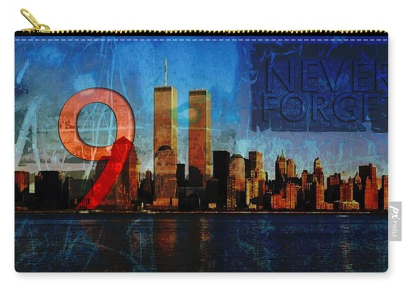 911 Never Forget Carry-all Pouch
