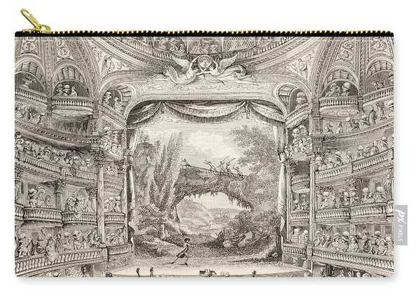 A 1789 Performance In The Theatre Des Varietes Amusantes Carry-all Pouch