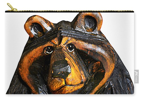 A Bear Expression Carry-all Pouch