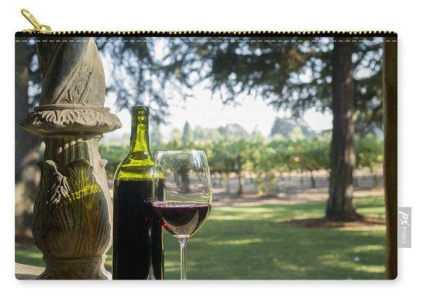 A Beautiful Day In Napa Carry-all Pouch