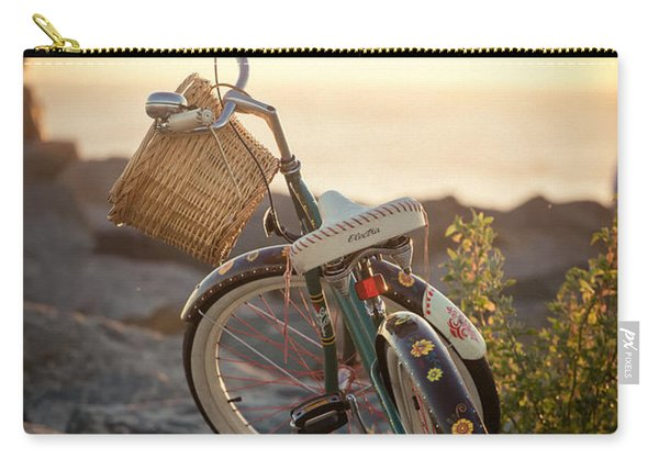 A Bike And Chi Carry-all Pouch